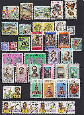 Jamaica - Wide Ranging Stamp Selection Mint and Used  2 SCANS (Ja11022)