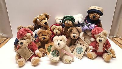 Boyds Bear teddy bear large lot of 13 all with tags