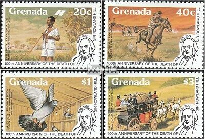 Grenada 967C-970C (complete.issue.) unmounted mint / never hinged 1979 Rowland H