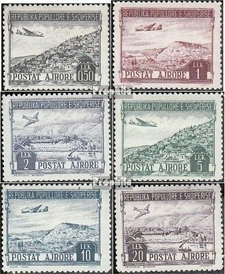 Albania 489-494 (complete.issue.) unmounted mint / never hinged 1950 Landscapes