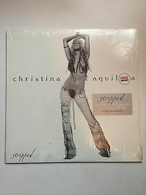 Christina Aguilera Stripped Double Vinyl LP Album Import