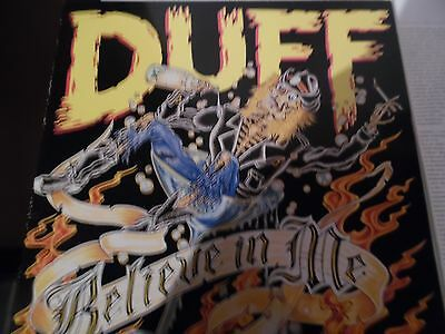 Duff believe in me vinyl 12 inch 1993 edition in very good condition