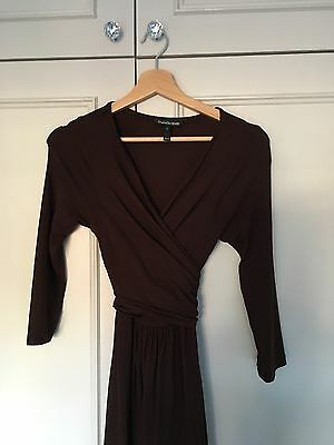 Isabella Oliver Emily Maternity Dress Brown Size 2 (size 10)