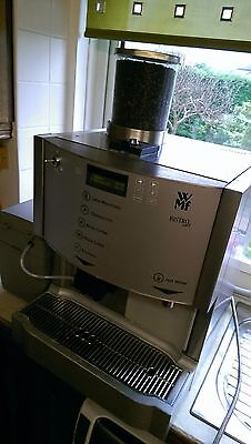 Commercial Wmf Bistro Easy Coffee Machine With Fridge