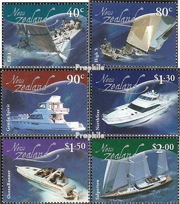 New Zealand 2027A-2032A (complete.issue.) unmounted mint / never hinged 2002 Ves