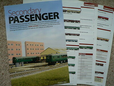 Secondary passenger train formations for the modeller - Hornby magazine article