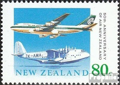 New Zealand 1104 (complete.issue.) unmounted mint / never hinged 1990 Airline