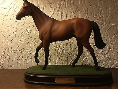 Royal Doulton 'Red Rum' Racehorse Sculpture Model Grand National