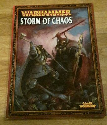 Warhammer - Storm of Chaos campaign book (paperback)