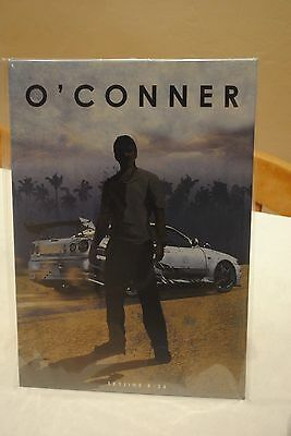 Displate Metal Poster of O'Conner Fast and Furious Skyline R-34 No.00106 -Signed