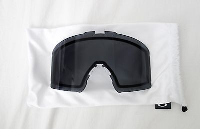 Brand New Boxed Oakley  Line Miner™ Replacement Snow Goggle Lens - Dark Grey