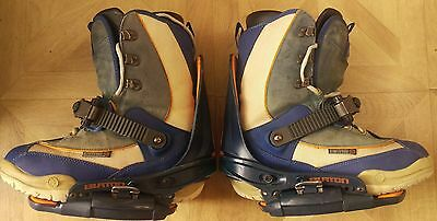 mens burton step in snowboard boots and bindings