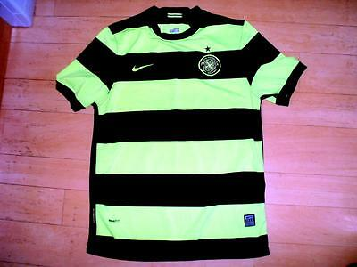 Celtic FC 2009-10 YOUTH XL away football shirt soccer jersey Glasgow ages 13-15