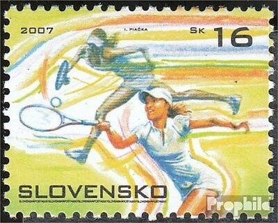 Slovakia 552 (complete.issue.) unmounted mint / never hinged 2007 Tennis