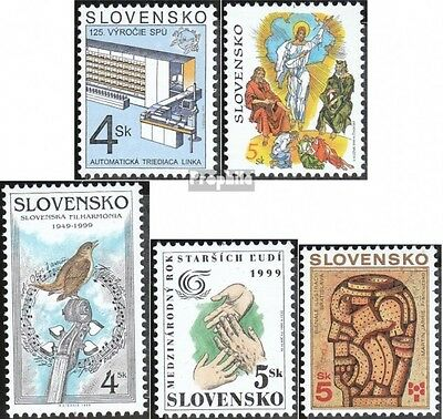 Slovakia 336,340,341,342,346 (complete.issue.) unmounted mint / never hinged 199