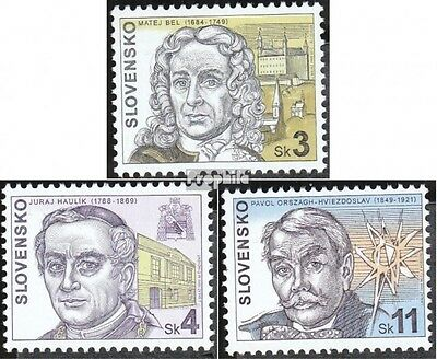 Slovakia 330-332 (complete.issue.) unmounted mint / never hinged 1999 Personalit