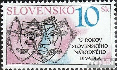 Slovakia 220 (complete.issue.) unmounted mint / never hinged 1995 Theater