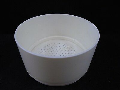 LABORATORY Plastic 130 x 70mm PP Polypropylene Perforated Fritted Buchner Filter