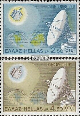 Greece 1043-1044 (complete.issue.) fine used / cancelled 1970 Telcom through Sat