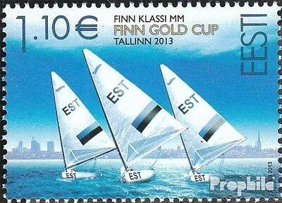 Estonia 770 (complete.issue.) unmounted mint / never hinged 2013 Sailing