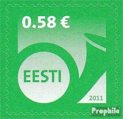 Estonia 705 (complete.issue.) unmounted mint / never hinged 2011 Horn