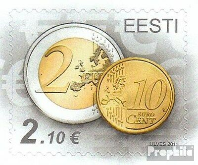 Estonia 712 (complete.issue.) unmounted mint / never hinged 2011 Euro