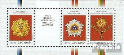 Estonia block31 (complete.issue.) unmounted mint / never hinged 2008 Orders