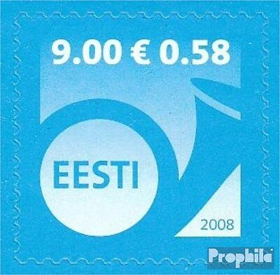 Estonia 613 (complete.issue.) unmounted mint / never hinged 2008 Horn
