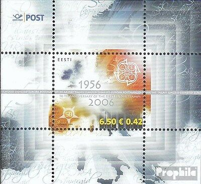 Estonia block24 (complete.issue.) unmounted mint / never hinged 2006 Europe