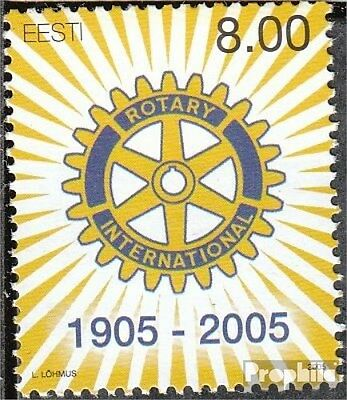Estonia 505 (complete.issue.) unmounted mint / never hinged 2005 Rotary