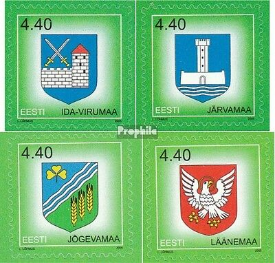 Estonia 507,508,523,524 (complete.issue.) unmounted mint / never hinged 2005 Cre