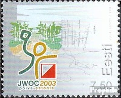 Estonia 465 (complete.issue.) unmounted mint / never hinged 2003 Sports