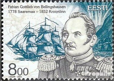 Estonia 469 (complete.issue.) unmounted mint / never hinged 2003 Bellingshausen