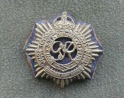 Original WW2 Royal Canadian Army Service Corps / R.C.A.S.C Cap Badge