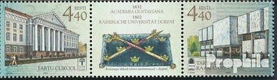 Estonia 435-436 triple strip (complete.issue.) unmounted mint / never hinged 200