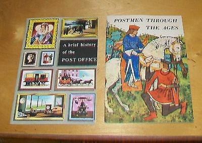 Postmen Through The Ages & A Brief History Of The Post Office (2 Books) Gpo