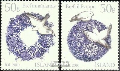 Iceland 1296-1297 (complete.issue.) unmounted mint / never hinged 2010 christmas