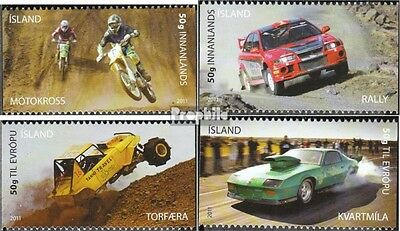 Iceland 1310-1313 (complete.issue.) unmounted mint / never hinged 2011 Motorspor