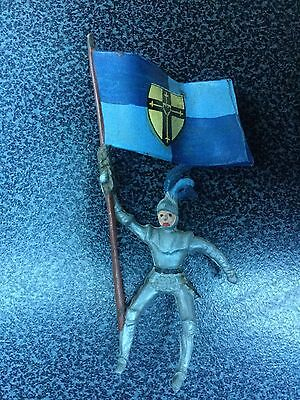 Timpo Britains toy soldiers Knight no horse brittle plastic Merten Germany