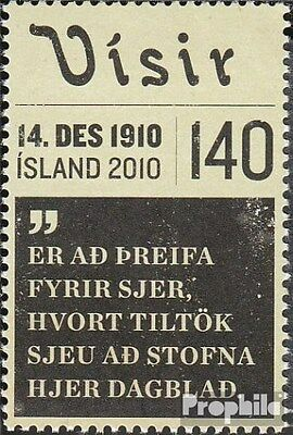 Iceland 1295 (complete.issue.) unmounted mint / never hinged 2010 Visir
