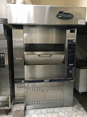 Picard Revolving Bakery Pizza Oven Natural Gas W/ Steam System Horno De Gas 2008