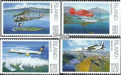 Iceland 1235-1238 (complete.issue.) unmounted mint / never hinged 2009 Aviation