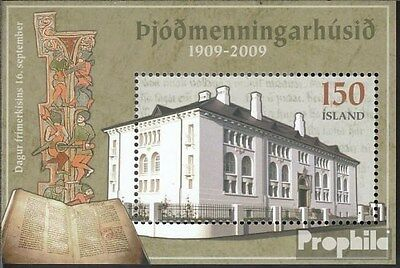 Iceland block48 (complete.issue.) unmounted mint / never hinged 2009 Philately
