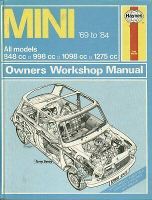 Mini 850 1000 1275Gt Clubman Cooper / S Mk3 1969 - 1984 Owners Workshop Manual