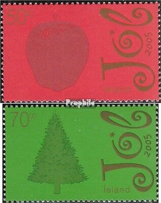 Iceland 1113A-1114A (complete.issue.) unmounted mint / never hinged 2005 christm