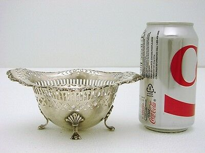 Sterling Silver Pierced Bowl Basket Neo-Classic Howard Silver Co c1900