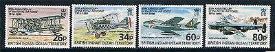 British Indian Ocean Territory 1998 80th Anniversary of RAF SG215/8 MNH