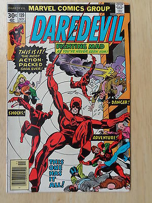 "Daredevil #139  _ ""night In The Life"" _ Vf Condition _ 1976"