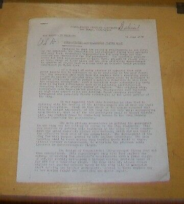 Consolidated 100 Passenger Flying Boat Press Release 11 July 1938 Pan-Am