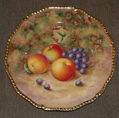 Royal Worcester Fruit Painted Plate